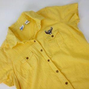 Vintage 90s Tilt embroidered monkey 🐒 top PAC sun
